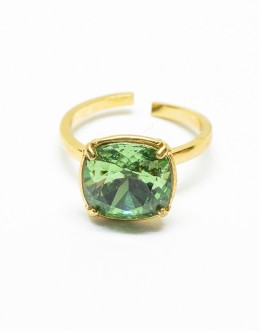 Dark Moss Green Ring