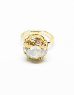 Light Topaz Color Ring