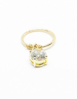 Zirconia Fringe Ring