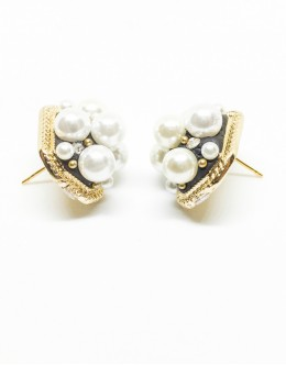 Antique Pearls Earrings For Party