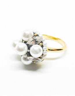 Antique Pearls Ring